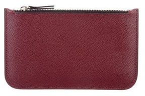 DSQUARED2 Leather Zip Pouch
