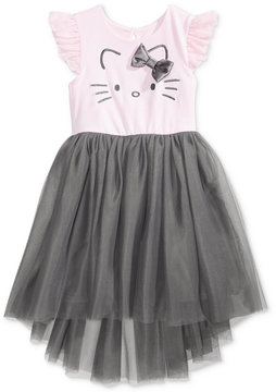 Hello Kitty Embroidered Ballerina Dress, Little Girls (4-6X)