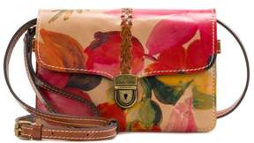 Patricia Nash Bianco Leather Crossbody Organizer Bag