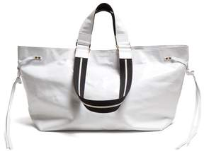 Isabel Marant Wardy Leather Tote Bag - Womens - White