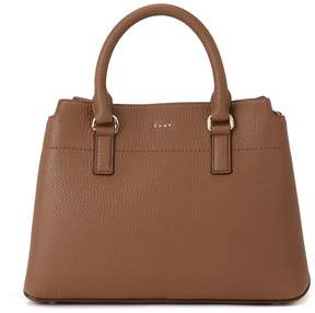 DKNY Bellah Camel Leather Handbag