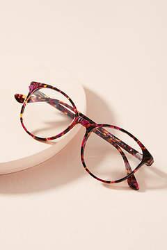 Anthropologie Jemma Tortoise Round Reading Glasses