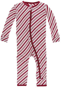 Kickee Pants Candy Cane Coverall