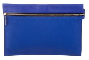 Victoria Beckham Leather Zip Pouch