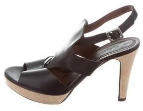 Marni Cutouts Leather Sandals