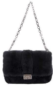 Christian Dior Mink and Persian Lamb Miss Flap Bag