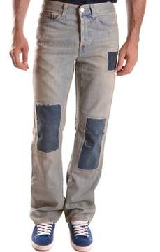 Richmond Men's Light Blue Cotton Jeans.