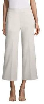 Elie Tahari Odette Crop Stretch Linen Pant