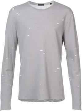 ATM Anthony Thomas Melillo speckled print T-shirt