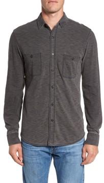 Faherty Men's Knit Sport Shirt
