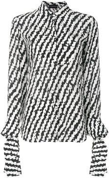 Emporio Armani stripe detail shirt