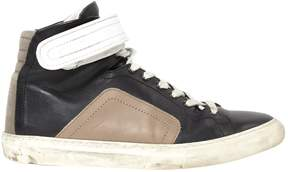 Pierre Hardy Leather high trainers