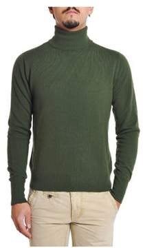 H953 Men's Green Wool Sweater.