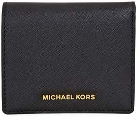 MICHAEL Michael Kors Jet Set Card Holder - BLACK - STYLE