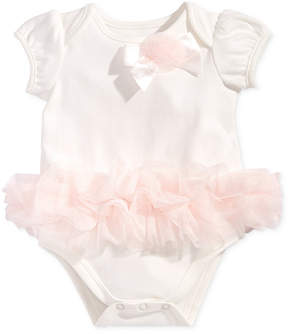 First Impressions Tulle Tutu Bodysuit, Baby Girls, Created for Macy's