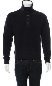 C.P. Company Woven Zip-Up Sweater