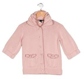 Little Marc Jacobs Girls' Wool-Blend Coat