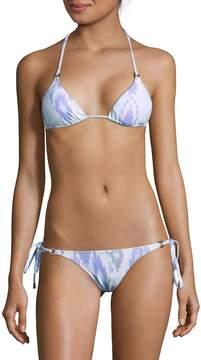 Melissa Odabash Women's Two-Piece Halter Tie Bikini