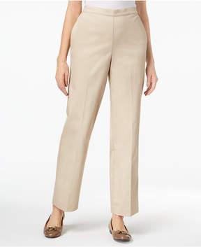 Alfred Dunner Scottsdale Pull-On Straight-Leg Pants