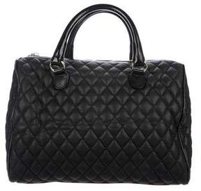 RED Valentino Quilted Leather Lace Handle Bag