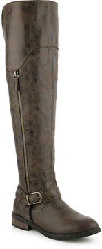 Restricted Women's Paintbrush Over The Knee Boot