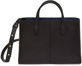 Mansur Gavriel Black Mini Folded Bag