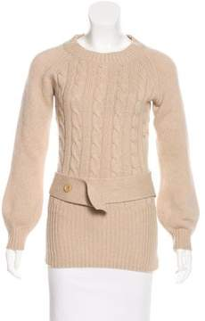 Matthew Williamson Cashmere Cable Knit Sweater