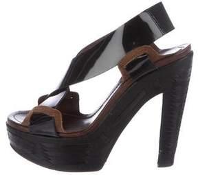Marni Slingback Platform Sandals