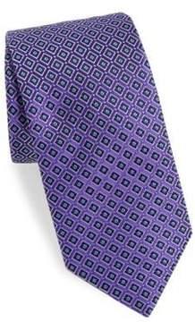 Eton Diamond Silk Tie
