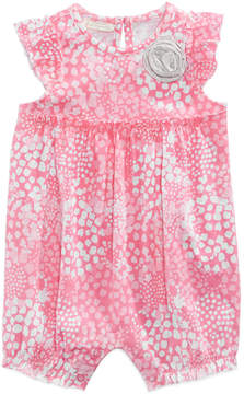 First Impressions Printed Cotton Romper, Baby Girls (0-24 months), Created for Macy's