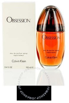 Calvin Klein Obsession by EDP Spray 3.4 oz (100 ml) (w)