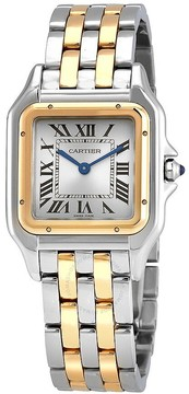 Cartier Panthere Silver Dial Ladies Watch