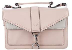 Rebecca Minkoff Leather Flap Satchel - PINK - STYLE