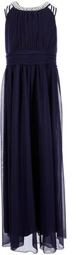 Xtraordinary Big Girls Plus 12.5-20.5 Embellished Halter Neck Long Dress