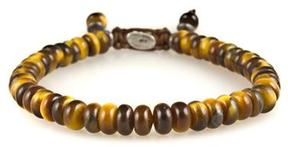 M. Cohen Stacked Tiger Eye Bracelet