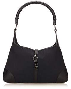 Gucci Pre-owned: Bamboo Jackie. - BLACK - STYLE
