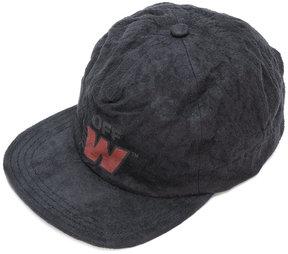 Off-White flat peak cap