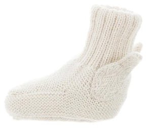 Oeuf Girls' Knit Sock Booties