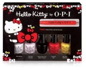 OPI 5 Hello Kitty Friend Minis Set.