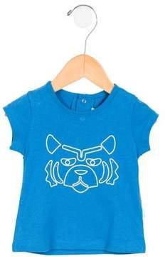 Kenzo Boys' Lion Print Short Sleeve Shirt w/ Tags