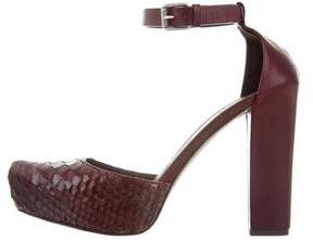 Brunello Cucinelli Platform Python Pumps w/ Tags