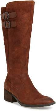 Brown Basil Knee High Boot