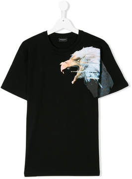 Marcelo Burlon County of Milan Kids eagle print T-shirt