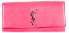 Saint Laurent Monogram Cassandre Clutch w/ Tags - PINK - STYLE