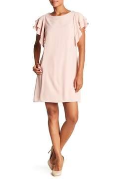 ABS by Allen Schwartz Collection Ruffle Trim Dress