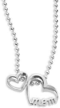 Alex Woo Little Words Mom Heart Necklace