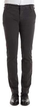 Entre Amis Men's Grey Cotton Pants.