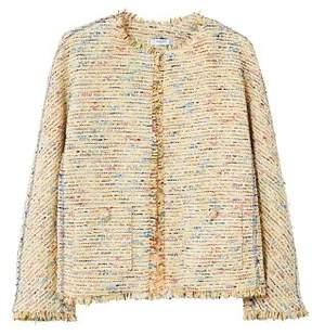 MANGO Trim tweed jacket