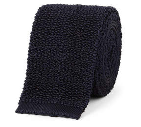 Drakes Drake's 6.5cm Knitted Silk Tie