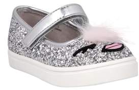 Nina Ragina Faux Fur Glitter Mary Jane Sneaker